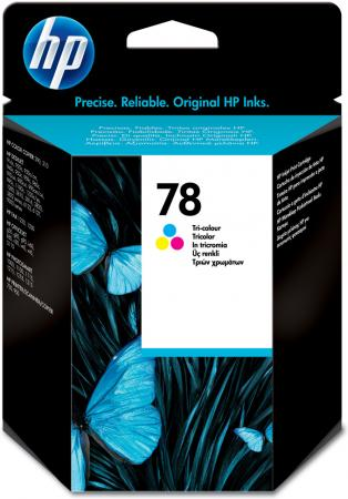 Картридж HP C6578A трехцветный оригинал