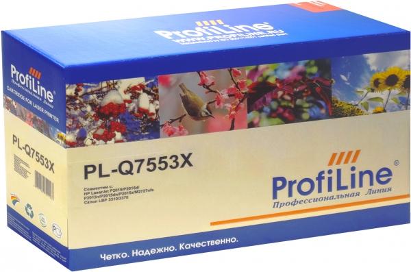 Картридж совместимый ProfiLine Q7553X/715 Black для HP