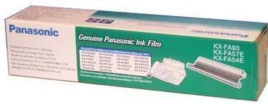 Термолента для факсов Panasonic KX-FA93, FA57E, FA54E (оригинальная)