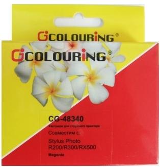 Картридж совместимый Colouring 48340 для Epson пурпурный