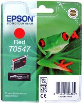 Картридж EPSON T054740 красный оригинальный