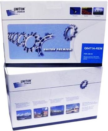 Картридж совместимый UNITON Premium Q6471A (502A) голубой для HP