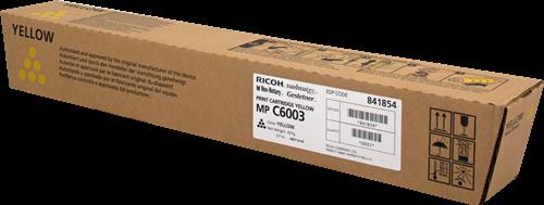 Тонер-картридж MPC6003 для Ricoh желтый