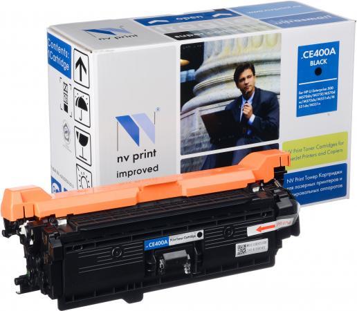 Картридж совместимый NV Print CE400A черный для HP