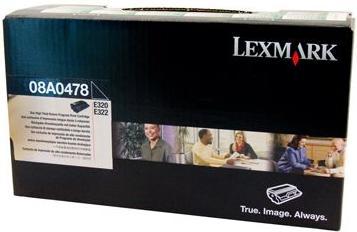 Картридж Lexmark 08A0478 черный оригинал