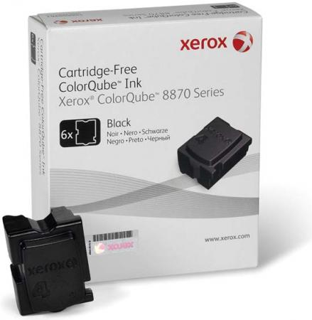 Твердые чернила Xerox 108R00961 черный оригинальный 6 шт.