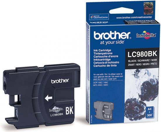 Картридж Brother LC980BK черный оригинальный