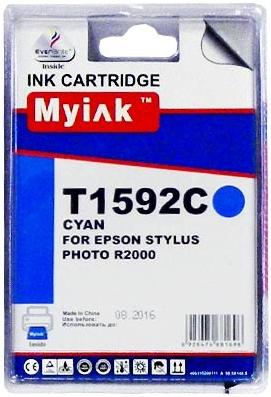 Картридж совместимый MyInk T1592 синий для Epson