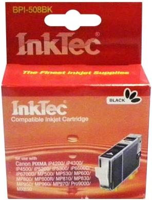 Картридж совместимый InkTec CLI-8Bk черный для Canon