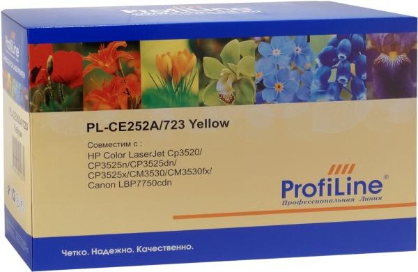 Картридж совместимый ProfiLine CE252A/723 Yellow для HP