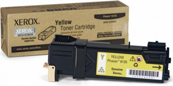 Картридж XEROX 106R01337 желтый оригинальный