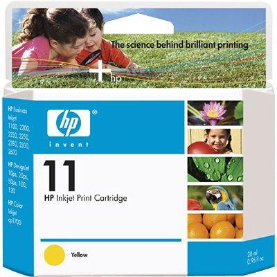 Картридж HP C4838A желтый оригинальный