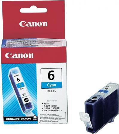 Картридж CANON BCI-6C голубой совместимый Lomond