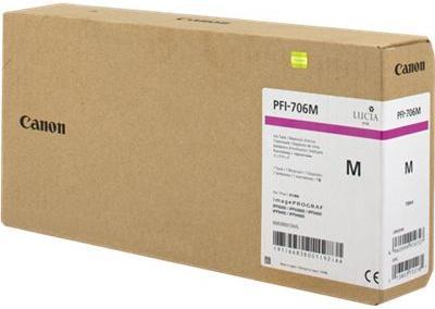 Картридж CANON PFI-706M пурпурный оригинальный