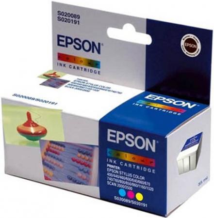Картридж EPSON C13T05204010 трехцветный оригинальный