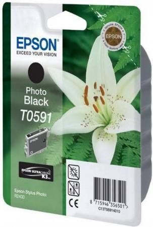 Картридж EPSON T059140 черный оригинальный