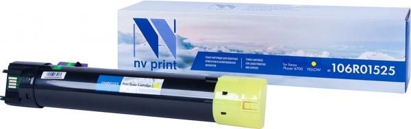 Картридж совместимый NVPrint 106R01525 для Xerox желтый