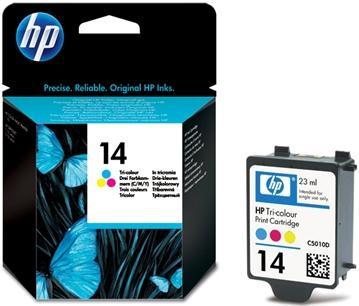 Картридж HP N14 цветной оригинальный