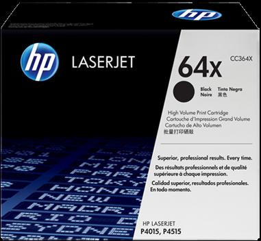 Картридж HP CC364X черный оригинальный