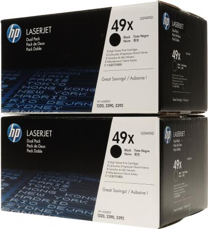 Картридж HP Q5949XD черный двойная упаковка оригинал