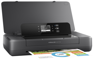 Принтер струйный HP OfficeJet 202 Mobile Printer