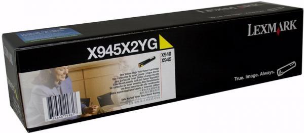 Картриджи Lexmark X945X2YG желтый оригинальный