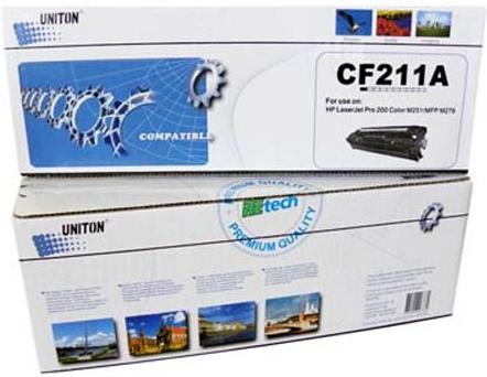 Картридж совместимый UNITON Premium CF211A голубой для HP