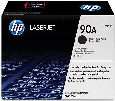 Картридж HP CE390А черный оригинальный