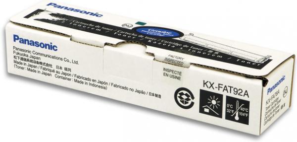 Тонер-картридж Panasonic KX-FAT92А оригинальный