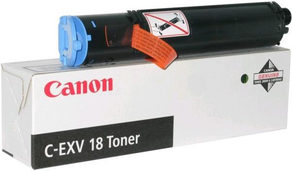Тонер-картридж Canon C-EXV18 оригинальный