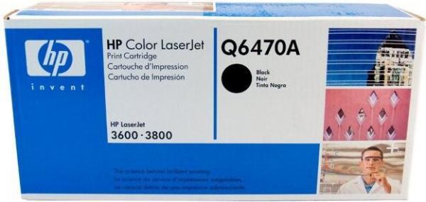 Картридж HP Q6470А черный оригинальный