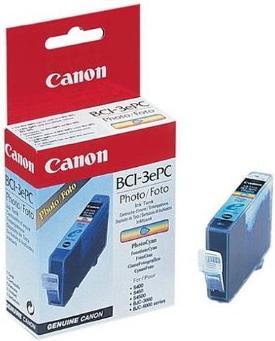 Картридж CANON BCI-3e PC голубой оригинальный