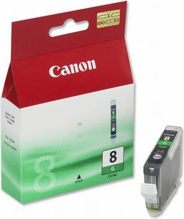 Картридж CANON CLI-8G зеленый оригинальный