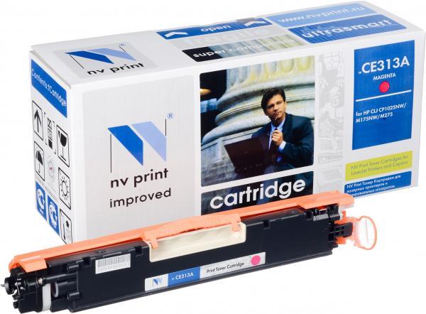 Картридж совместимый NV Print CE313A пурпурный для HP