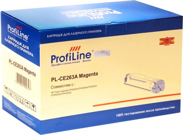 Картридж совместимый ProfiLine CE263A Magenta для HP