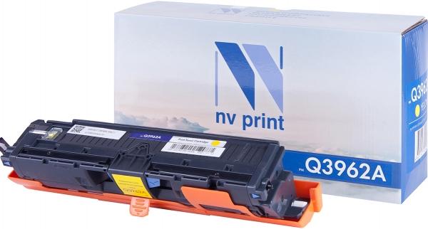 Картридж совместимый NVPrint Q3962A для HP желтый