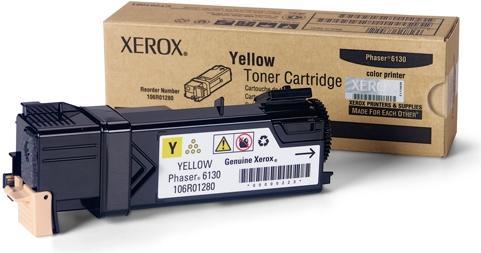 Картридж XEROX 106R01284 желтый оригинальный