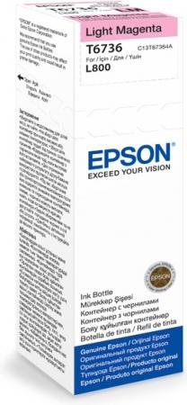 Картридж EPSON C13T67364A светло-пурпурный оригинальный