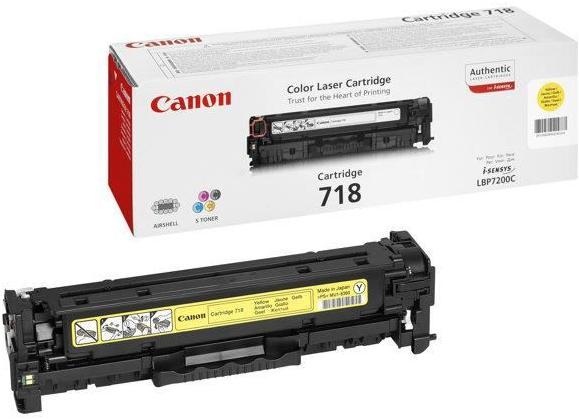 Картридж Canon 718Y желтый совместимый NV Print