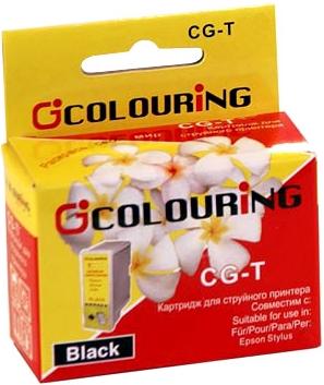 Картридж совместимый Colouring 040140 для Epson черный