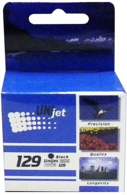 Картридж совместимый Unijet C9364HE (129) черный для HP