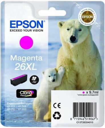 Картридж EPSON C13T26334010 пурпурный оригинальный