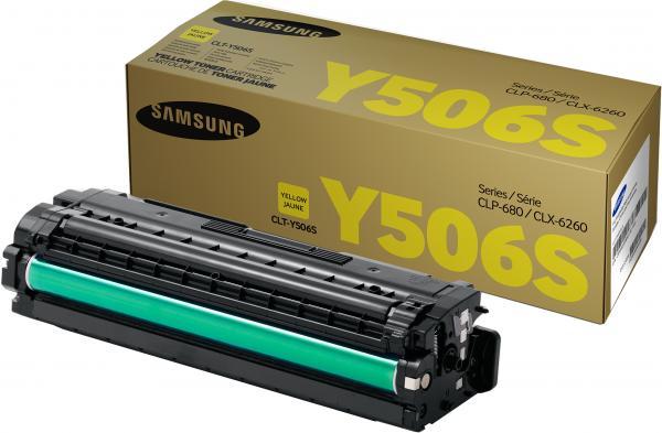 Картридж Samsung CLT-Y506S желтый оригинальный