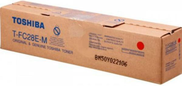 Картридж TOSHIBA T-FC28EM (6AJ00000048) пурпурный оригинальный