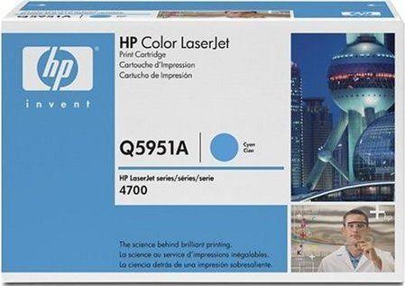 Картридж HP Q5951A голубой оринигал