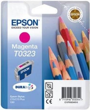 Картридж EPSON T0323 пурпурный оригинальный