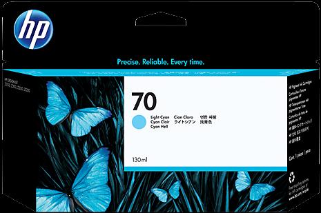 Картридж HP C9390A светло-голубой оригинальный