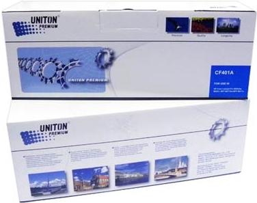 Картридж совместимый UNITON Premium CF401A (201A) синий для HP