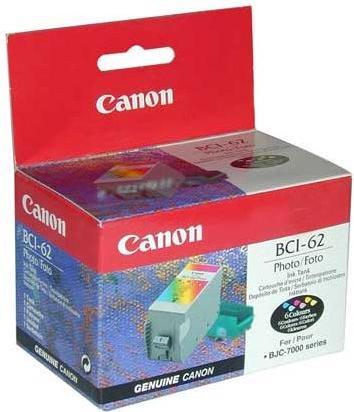 Картридж CANON BCI-62 трехцветный оригинальный