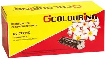 Картридж совместимый Colouring CF281X для HP